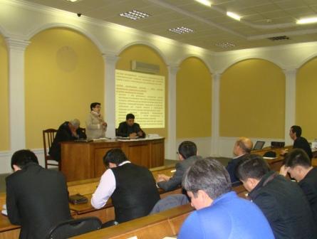 Toshkent shahri Bektemir tumanida o'tkazilgan o'quv seminar
