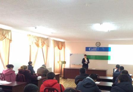 Chirchiq shahrida o'tkazilgan o'quv seminar